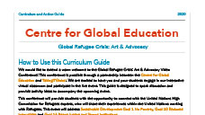 Classroom Resources: Global Refugee Crisis: Art & Advocacy 2020