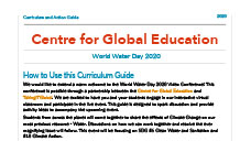 Classroom Resources: World Water Day 2020